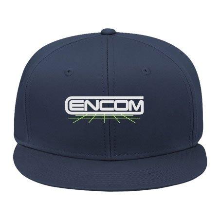 [2015 New Male/female Fashion Adjustable Hip Hop Caps Snapback Hats Tron Encom Navy Cotton] (Tron Outfits)