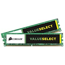 Corsair Memory VS4GBKIT800D2 4 GB PC2-6400 800Mhz 240-pin DDR2 Dual Channel Desktop Memory