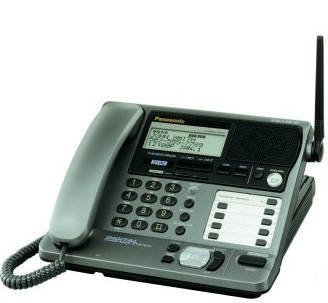 PANASONIC KX-TG2000B 2-Line 2.4GHz Digital Spread Spectrum Expandable Phone System with Digital Answering System (Spread Phone)
