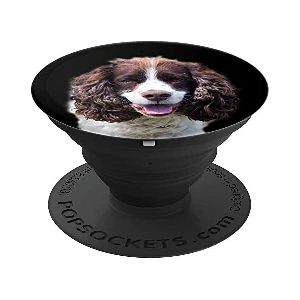 English Springer Spaniel Dogs Cute Dog Lovers Mom Dad Gift PopSockets Grip and Stand for Phones and Tablets 1