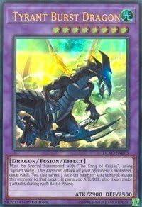 yu-gi-oh Tyrant Burst Dragon - LCKC-EN063 - Ultra Rare - 1st Edition - Legendary Collection Kaiba Mega Pack (1st Edition)