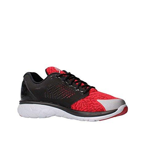 Nike Herren Jordan Trainer ST Turnschuhe Schwarz / Rot / Grau (Schwarz / Gym Rot-Wolf Grau-Red- Tm)
