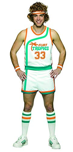 Rasta Imposta Semi Pro Uniform Costume, Multi-Colored,