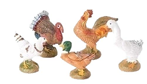 Bethlehem Nativity Collection (Fontanini Bethlehem Birds Italian Nativity Village Figurines Set of 5)