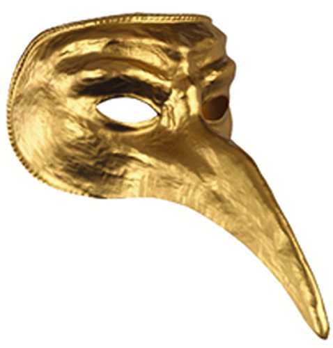 Disguise Costumes Gold Venetian Mask,