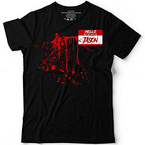 Jason Name Bloody Halloween Costume Horror Blood Shirt Customized Handmade Hoodie/Sweater/Long Sleeve/Tank Top/Premium T-shirt ()