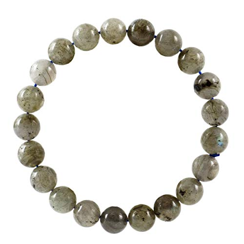 Gemstone Bracelet 7 inch Stretchy Chakra Gems Stones Healing Crystal Great Gifts (Unisex) GB8-17 ()