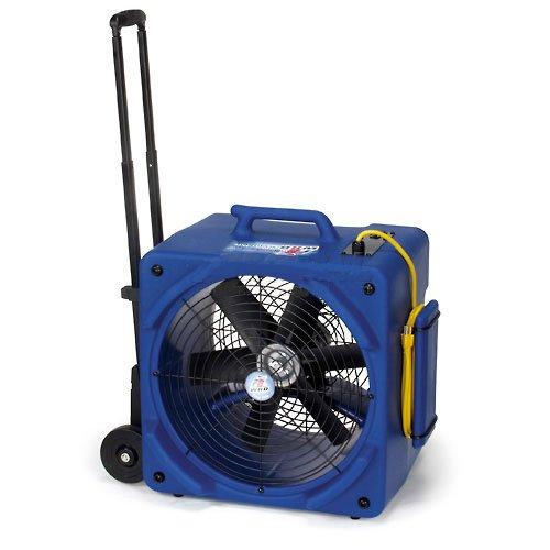 Powr-Flite PDF6WRD 1/4 Hp Downdraft Floor Dryer With Handle And Wheels