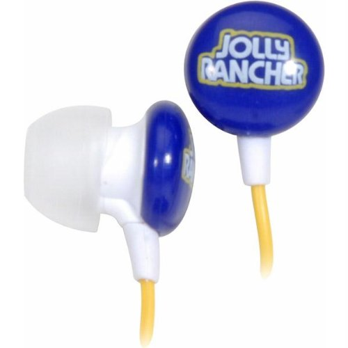 Candy Comfort Earphones Jolly Rancher 3.5mm Stereo Headsets (Discontinued by Manufacturer) -