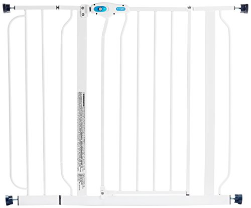 Regalo-Easy-Step-Walk-Thru-Gate-White-Fits-Spaces-between-29-to-39-Wide