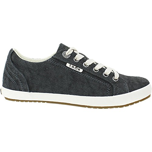 Taos Women's Star Charcoal Wash Canvas 8.5 (W) US