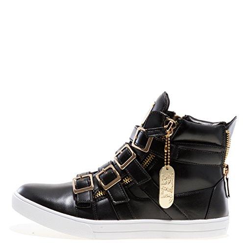 Salto J75 Mens Fanatico Della Moda Sneaker High-top Nero