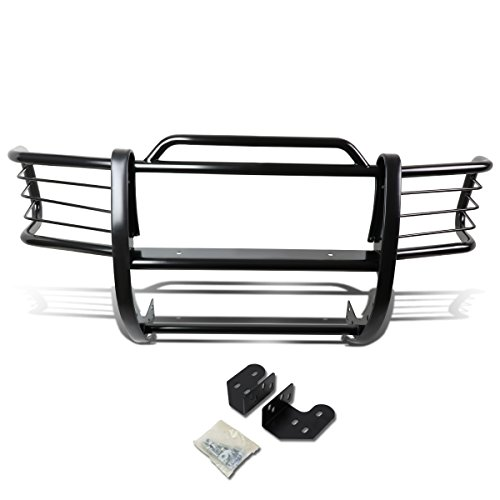 (DNA MOTORING GRILL-G-012-BK Front Bumper Brush Grille Guard)