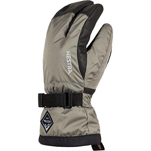 (Hestra Gloves 32532 Jr. Gauntlet CZone 3-Finger, Dust/Black - 7)