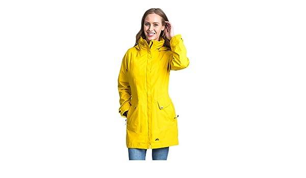Trespass Ladies RainyDay Waterproof Jacket with Taped Seams Hip Length Raincoat