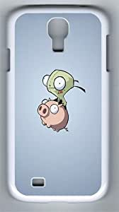 Elves And Flying Pigs PC Hard Case Cover For Samsung Galaxy S4 SIV I9500 Case and Cover White