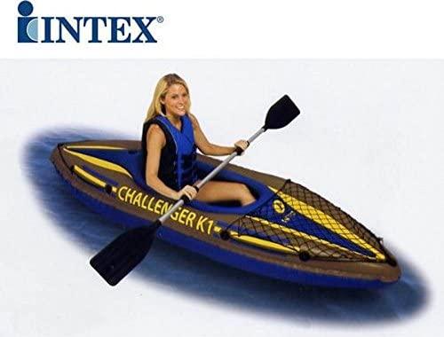 Canoa 1 Plaza Intex Mar Sport Remo Hinchable pvc Challenger ...