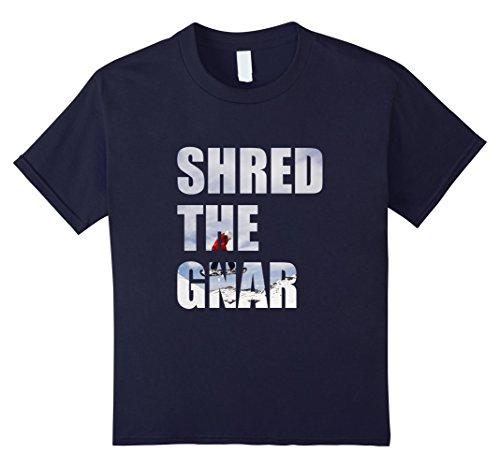 Snowboard Fashion: Shred The Gnar T-Shirt