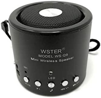 Offershop - Mini Altavoz Speaker Inalámbrico Bluetooth Wireless Portátil Reproductor Mp3 Radio FM USB Tarjeta TF AUX Manos Libres Teléfono Celular ...