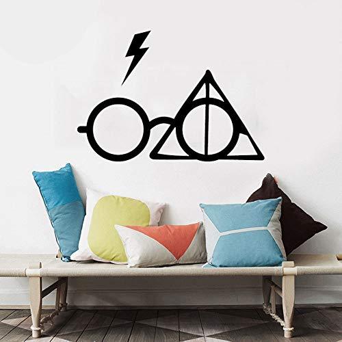 pegatina de pared 3d etiqueta de la pared Harry Potter Gafas ...