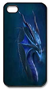 Dragons Custom iPhone 4s/4 Case Cover Polycarbonate Black
