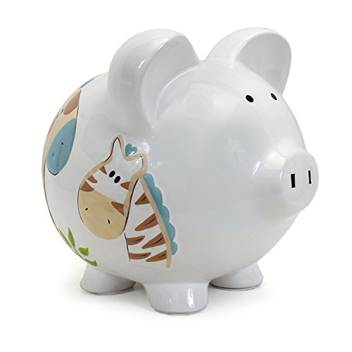 Child to Cherish Piggy Bank Large, Jungle Jack - Large Piggy Banks Kids