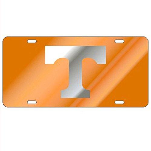 Craftique Tennessee Volunteers Orange Laser Cut License Plate - Mirror T