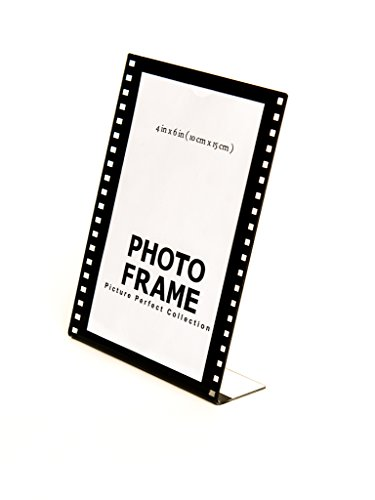Photo Booth Frames 4x6 Clear Acrylic Picture Frame Film Style Hollywood Frame Sign Holder Vertical (24)
