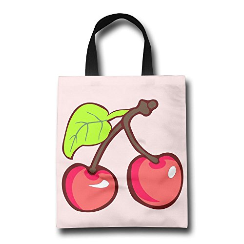 Cherry Fruit Lightweight Foldable Tote Eco Grab Bag Shopping Bag Tote - Shopping Orchard Mall
