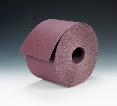 3M 341D Coated Aluminum Oxide Sanding Roll - 80 Grit - 8 in Width x 50 yd Length - 15147 [PRICE is per CASE]