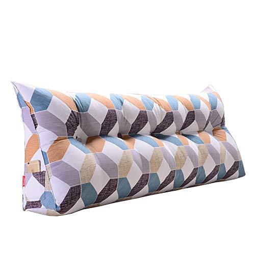 (GAOQQ Triangle Wedge Large Back Cushion, Bed/Tatami / Sofa Soft Comfort Lumbar Support Pillow,A-200x20x50CM)