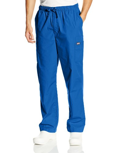 Cherokee Men's Big and Tall Originals Cargo Scrubs Pant, Royal, XXX-Large Short