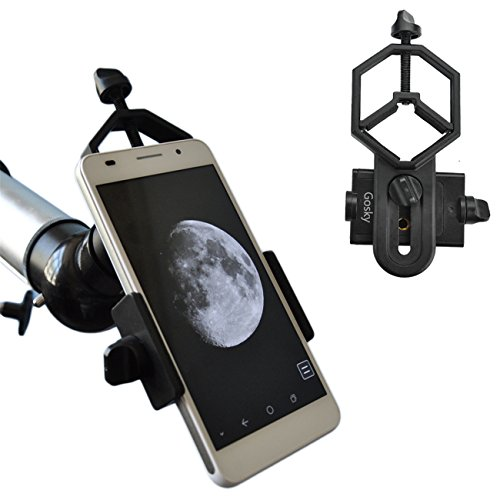 Gosky Universal Cell Phone Adapter Mount - Compatible with Binocular Monocular Spotting Scope Telescope and Microscope - For Iphone Sony Samsung Moto Etc -Record the Nature of the World (Lab Electronic Equipment compare prices)