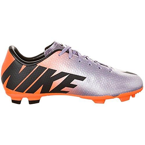 Nike Fußballschuh JR MERCURIAL VICTORY IV FG, metalic purple/orange Grösse 33.5