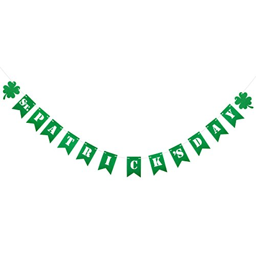 2 Meters ST. Patrick's Day Irish Shamrock Banners