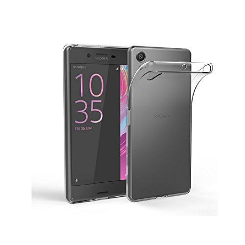 HANDYHÜLLE Schutzhülle Silikon Case Schutz Cover Transparent Clear von ZhinkArts für Sony Xperia M2