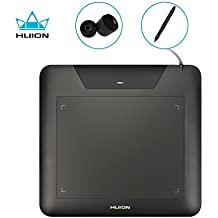 Huion 8 x 6 Inches Digital Graphic Drawing Tablet - 680s Black