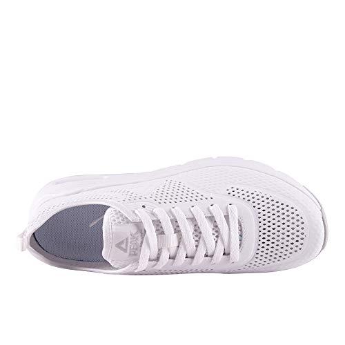 Herren zweifarbigem Weiß Peak Trend Sneaker in nYwFnTxz