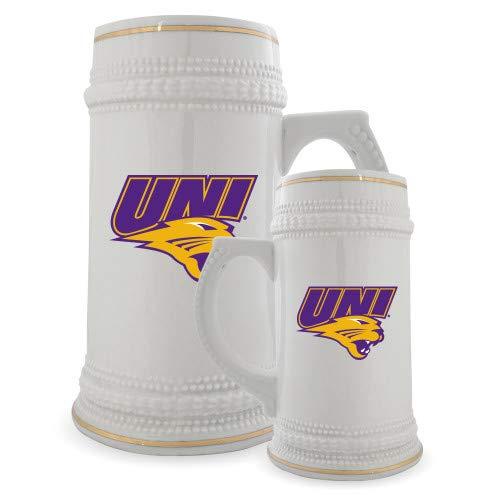 Northern Iowa Full Color Decorative Ceramic Mug 22oz 'UNI Official Logo' by CollegeFanGear