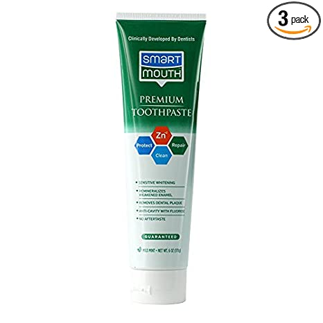 Review SmartMouth Toothpaste, Refreshing Mint,