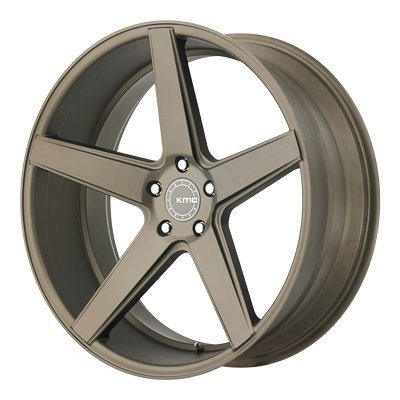 One KMC Matte Bronze KM685 District Wheel/Rim - 19x8.5 - 5x114.3 - +35mm