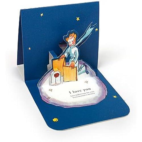 LE PETIT PRINCE LOVE POP-UP CARD - Rose Sales