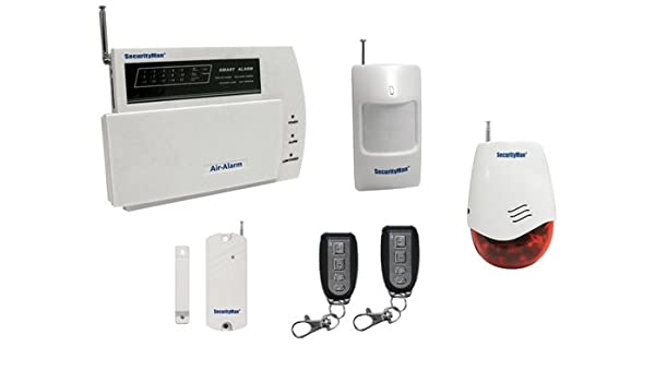 Macally Air-Alarm1 Blanco sistema de alarma de seguridad ...