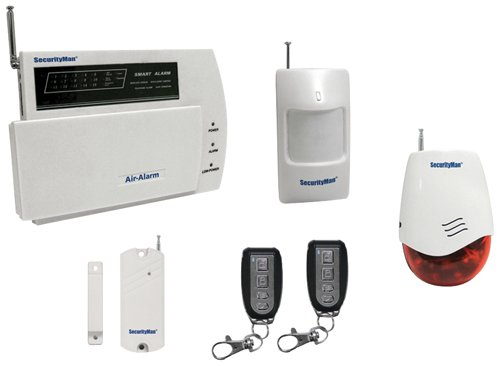 Macally Air-AlarmI D.I.Y. Wireless Home Alarm System Kit by Securityman