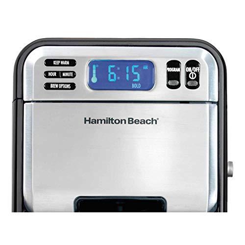 Hamilton Beach 46205 Programmable Coffee Maker, Standard