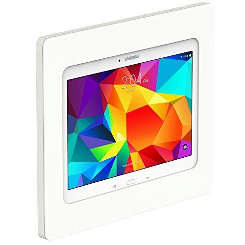 VidaMount On-Wall Tablet Mount - Galaxy Tab 4 10.1 - White by VidaBox Kiosks