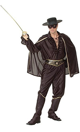 Men's Zorro Bandit Costume]()