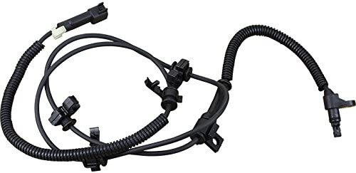 AIP Electronics ABS Anti-Lock Brake Wheel Speed Sensor Compatible Replacement For 2002-2007 Jeep Liberty Front Right Passenger Side 52128694AB Oem Fit ABS741