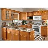 10x10 Randolph Oak Kitchen