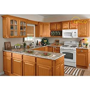 Amazon.com: 10x10 Randolph Oak Kitchen: Kitchen & Dining